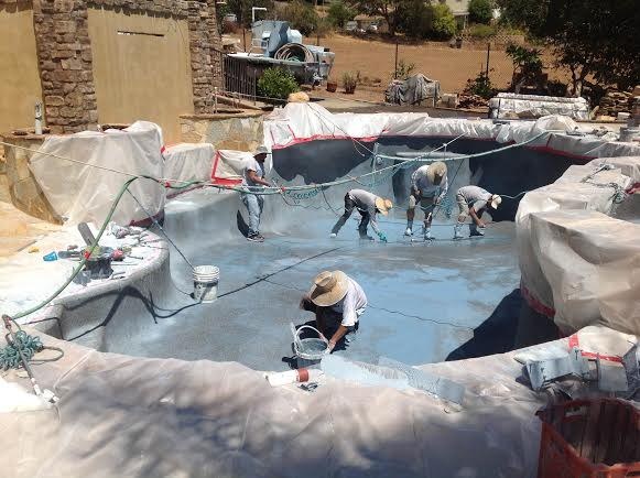 pool remodeling Houston